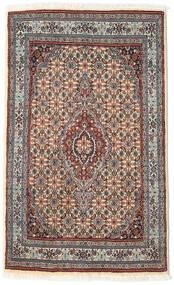 Moud Matto 74X122 Itämainen Käsinsolmittu Vaaleanharmaa/Beige (Villa/Silkki, Persia/Iran)