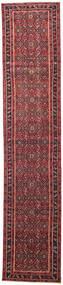Hamadan Patina Matto 78X380 Itämainen Käsinsolmittu Käytävämatto Punainen/Tummanpunainen (Villa, Persia/Iran)