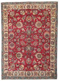 Tabriz Patina Matto 130X182 Itämainen Käsinsolmittu Tummanharmaa/Punainen (Villa, Persia/Iran)