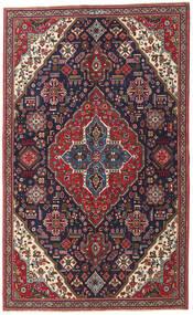 Tabriz Patina Matto 150X245 Itämainen Käsinsolmittu Tummanvioletti/Tummanpunainen (Villa, Persia/Iran)