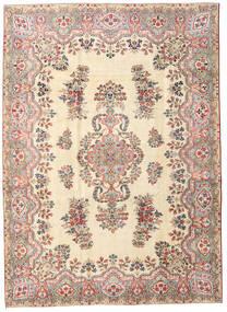 Kerman Patina Matto 215X297 Itämainen Käsinsolmittu Beige (Villa, Persia/Iran)