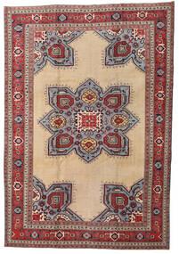 Ardebil Patina Matto 227X330 Itämainen Käsinsolmittu Tummanpunainen/Beige (Villa, Persia/Iran)