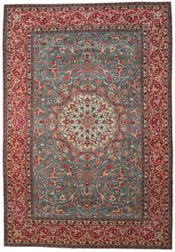 Najafabad Patina Matto 325X475 Itämainen Käsinsolmittu Tummanpunainen/Tummanharmaa Isot (Villa, Persia/Iran)