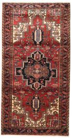 Heriz Matto 117X230 Itämainen Käsinsolmittu Tummanpunainen/Tummanruskea (Villa, Persia/Iran)