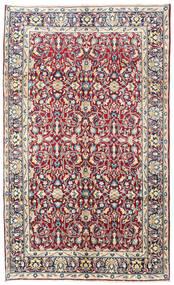 Kerman Matto 160X260 Itämainen Käsinsolmittu Vaaleanpunainen/Tummanpunainen (Villa, Persia/Iran)