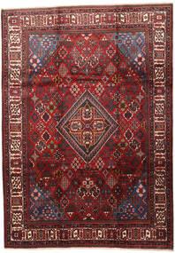 Joshaghan Matto 235X330 Itämainen Käsinsolmittu Tummanpunainen/Tummanruskea (Villa, Persia/Iran)