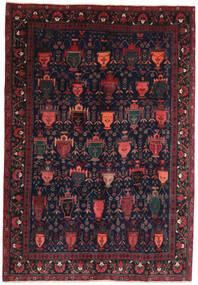 Afshar/Sirjan Matto 194X275 Itämainen Käsinsolmittu Musta/Tummanruskea (Villa, Persia/Iran)