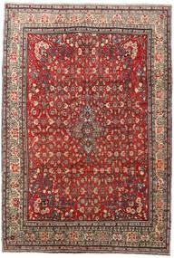 Zanjan Matto 208X303 Itämainen Käsinsolmittu Tummanruskea/Vaaleanruskea (Villa, Persia/Iran)