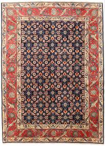 Koliai Matto 200X268 Itämainen Käsinsolmittu Tummanpunainen/Tummanharmaa (Villa, Persia/Iran)
