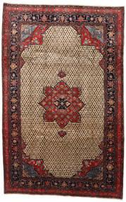 Songhor Matto 206X322 Itämainen Käsinsolmittu Vaaleanruskea/Musta (Villa, Persia/Iran)