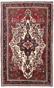 Lillian Matto 150X245 Itämainen Käsinsolmittu Beige/Musta (Villa, Persia/Iran)