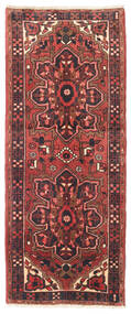Heriz Matto 80X195 Itämainen Käsinsolmittu Käytävämatto Tummanpunainen/Tummansininen (Villa, Persia/Iran)