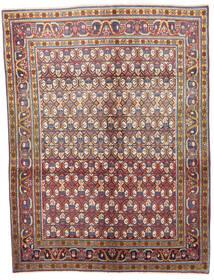 Wiss Matto 133X175 Itämainen Käsinsolmittu Vaaleanruskea/Tummanharmaa (Villa, Persia/Iran)
