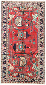 Bakhtiar Matto 160X300 Itämainen Käsinsolmittu Musta/Tummanharmaa (Villa, Persia/Iran)