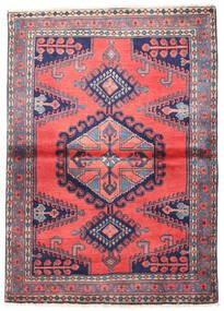 Wiss Matto 110X155 Itämainen Käsinsolmittu Tummanvioletti/Tummanharmaa (Villa, Persia/Iran)