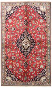 Keshan Matto 145X240 Itämainen Käsinsolmittu Tummanpunainen/Tummanharmaa (Villa, Persia/Iran)