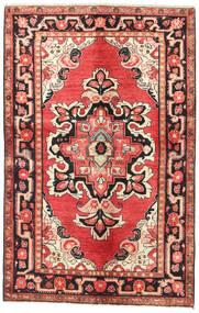 Lillian Matto 127X200 Itämainen Käsinsolmittu Ruoste/Tummanpunainen (Villa, Persia/Iran)