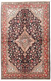 Jozan Matto 145X225 Itämainen Käsinsolmittu Tummanruskea/Beige (Villa, Persia/Iran)