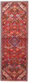 Joshaghan Matto 102X293 Itämainen Käsinsolmittu Käytävämatto Tummanpunainen/Ruoste (Villa, Persia/Iran)