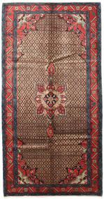 Koliai Matto 165X315 Itämainen Käsinsolmittu Tummanruskea/Tummanpunainen (Villa, Persia/Iran)