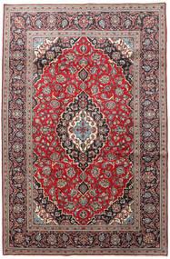 Keshan Matto 195X300 Itämainen Käsinsolmittu Tummanruskea/Tummanpunainen (Villa, Persia/Iran)