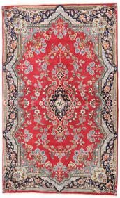 Kerman Matto 135X220 Itämainen Käsinsolmittu Ruoste/Vaaleanruskea (Villa, Persia/Iran)