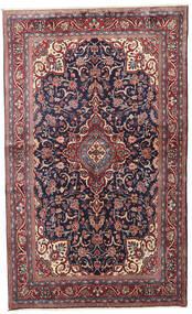 Sarough Matto 128X212 Itämainen Käsinsolmittu Tummanpunainen/Vaaleanharmaa (Villa, Persia/Iran)