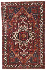 Bakhtiar Patina Matto 122X193 Itämainen Käsinsolmittu Tummanpunainen/Tummanruskea (Villa, Persia/Iran)