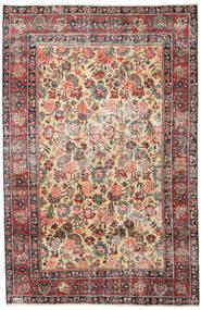 Mashad Patina Matto 185X285 Itämainen Käsinsolmittu Vaaleanruskea/Tummanharmaa (Villa, Persia/Iran)