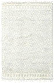 Barchi/Moroccan Berber - Indo Matto 156X241 Moderni Käsinsolmittu Beige/Valkoinen/Creme (Villa, Intia)