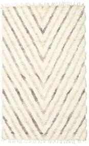Barchi/Moroccan Berber - Indo Matto 154X250 Moderni Käsinsolmittu Beige/Valkoinen/Creme (Villa, Intia)