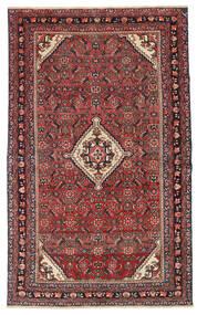Hamadan Patina Matto 133X210 Itämainen Käsinsolmittu Tummanpunainen/Tummanruskea (Villa, Persia/Iran)
