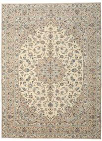 Yazd Patina Matto 290X390 Itämainen Käsinsolmittu Vaaleanharmaa/Beige Isot (Villa, Persia/Iran)