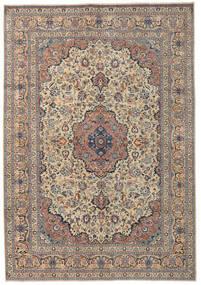 Kashmar Patina Matto 250X355 Itämainen Käsinsolmittu Vaaleanruskea/Tummanharmaa Isot (Villa, Persia/Iran)