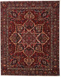 Bakhtiar Patina Matto 304X385 Itämainen Käsinsolmittu Tummanpunainen/Tummanruskea Isot (Villa, Persia/Iran)
