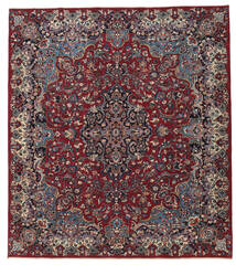 Mashad Patina Matto 250X283 Itämainen Käsinsolmittu Tummanpunainen/Tummanharmaa Isot (Villa, Persia/Iran)