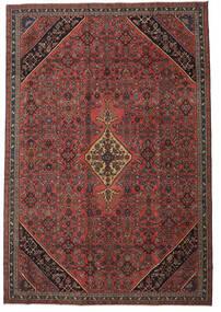 Hamadan Patina Matto 265X388 Itämainen Käsinsolmittu Tummanpunainen/Musta Isot (Villa, Persia/Iran)