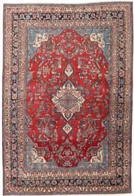 Hamadan Patina Matto 213X312 Itämainen Käsinsolmittu Tummanpunainen/Tummanharmaa (Villa, Persia/Iran)