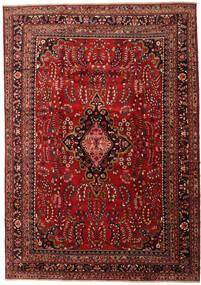 Lillian Matto 343X482 Itämainen Käsinsolmittu Tummanpunainen/Tummanruskea Isot (Villa, Persia/Iran)