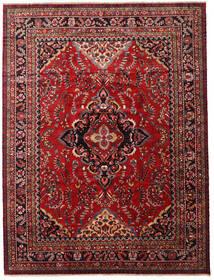 Lillian Matto 347X458 Itämainen Käsinsolmittu Tummanpunainen/Musta Isot (Villa, Persia/Iran)