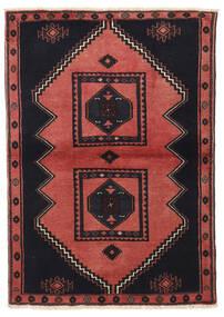 Klardasht Matto 103X149 Itämainen Käsinsolmittu Musta/Tummanpunainen (Villa, Persia/Iran)