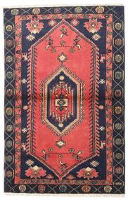 Klardasht Matto 98X150 Itämainen Käsinsolmittu Punainen/Musta (Villa, Persia/Iran)