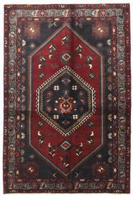 Klardasht Matto 130X195 Itämainen Käsinsolmittu Tummanpunainen/Musta (Villa, Persia/Iran)