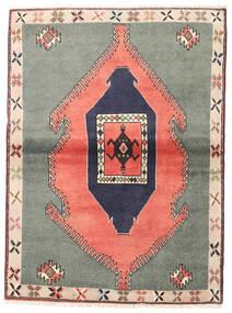 Klardasht Matto 105X140 Itämainen Käsinsolmittu Tummanharmaa/Vaaleanpunainen (Villa, Persia/Iran)