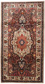 Bakhtiar Matto 165X310 Itämainen Käsinsolmittu Käytävämatto Tummanruskea/Musta (Villa, Persia/Iran)