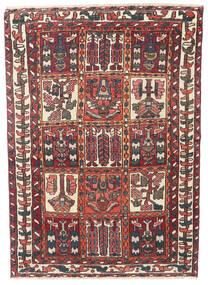Bakhtiar Patina Matto 110X152 Itämainen Käsinsolmittu Tummanpunainen/Tummanruskea (Villa, Persia/Iran)