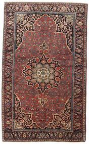Bidjar Matto 129X212 Itämainen Käsinsolmittu Tummanpunainen/Tummanruskea (Villa, Persia/Iran)