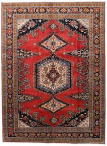 Wiss Matto 212X288 Itämainen Käsinsolmittu Tummanruskea/Ruoste (Villa, Persia/Iran)