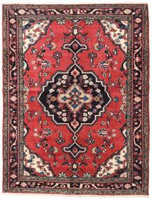 Lillian Matto 158X205 Itämainen Käsinsolmittu Tummansininen/Ruoste (Villa, Persia/Iran)
