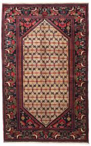 Koliai Matto 128X207 Itämainen Käsinsolmittu Tummanruskea/Tummanpunainen (Villa, Persia/Iran)